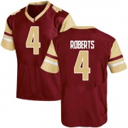Game Youth Maximilian Roberts Boston College Eagles Maroon Team Color College Jersey